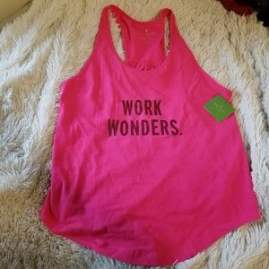 NWT Kate Spade Work Wonders active tank XS